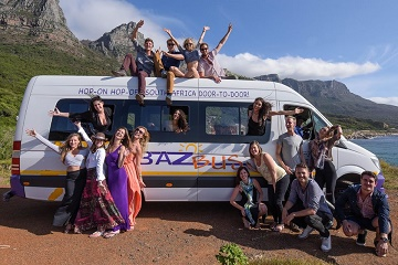 Hop-on Hop-off Bus between Cape Town & Johannesburg