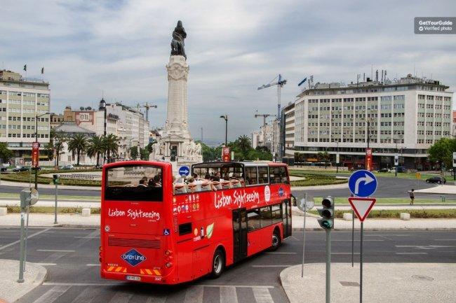 Lisbon Sightseeing Hop-On Hop-Off Tour Tickets