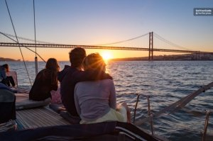 Lisbon Sunset Sailing Tour with Transfers Tickets