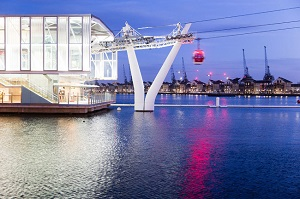 Emirates Airline Cable Car and Thames River Cruise Tickets