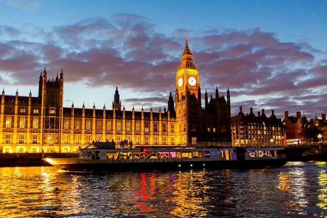 London Thames River Dinner Cruise Tickets
