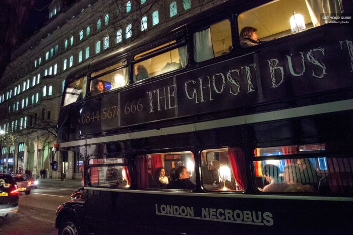 London Ghost Bus Tour: Comedy Horror Show Tickets