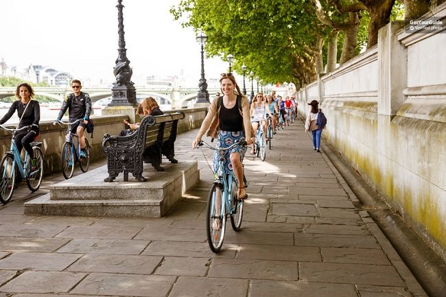 London Highlights Bike Tour Tickets