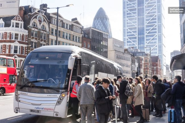 Stansted Airport to Central London Bus Transfer Tickets