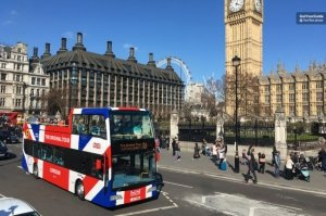 The Original London Hop-on Hop-off Sightseeing Bus Tour Tickets