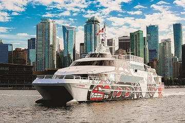 Luxury Cruise to Victoria from Downtown Vancouver