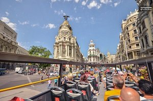 Madrid Hop-On Hop-Off City Sightseeing Bus Tour Tickets