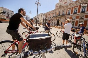 Scenic Madrid City Cycling Tour  Tickets