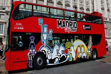 Madrid Santiago Bernabeu Stadium & Hop-on Hop-off Bus