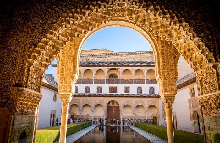 Alhambra Full Day From Malaga Nasrid Palaces Included Tickets