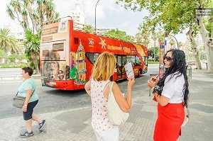Malaga Hop-on Hop-off Tour Bus  Tickets