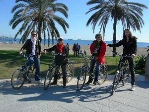 Malaga Tapas and Wine Bike Tour Tickets