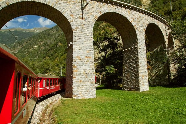 Bernina Express and St.Moritz Day Tour from Milan Tickets