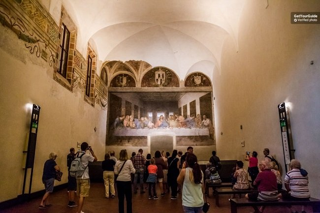 Milan History  and The Last Supper Tour  Half-Day Tickets