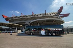 San Siro Stadium and Casa Milan Museum and Hop On Hop Off Bus Tickets
