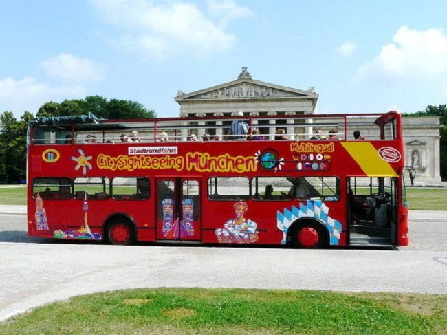 Munich City Sightseeing Bus Tour Tickets