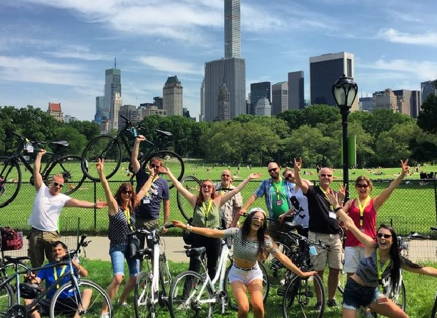 Central Park Sightseeing Bike Tour New York Tickets
