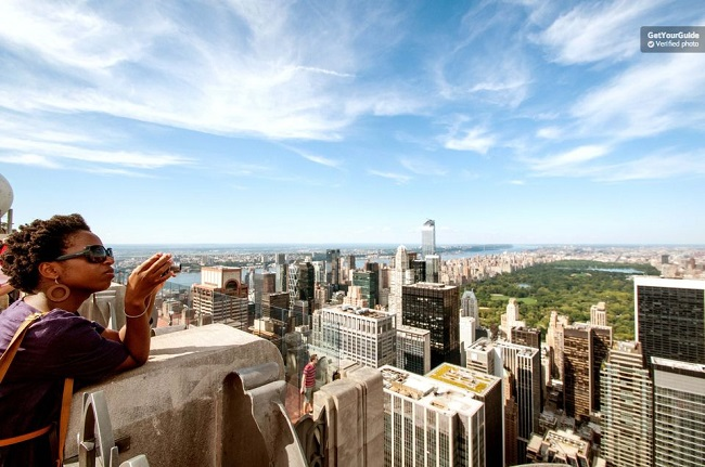 Top of the Rock Observation Deck: Flexible Ticket Tickets