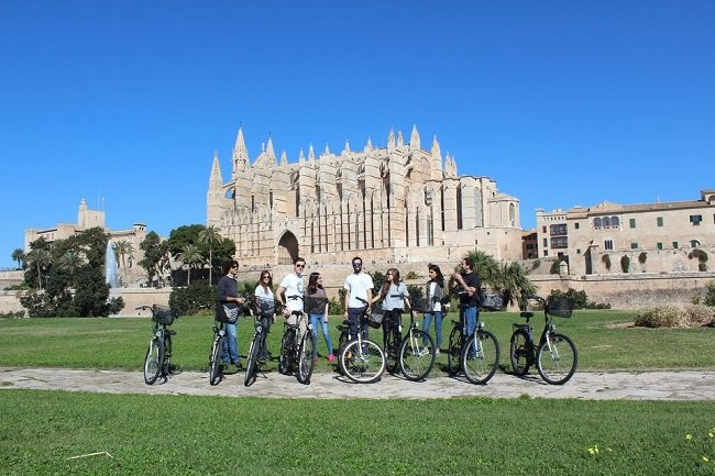 Palma de Mallorca Old Town Guided Bike Tour Tickets