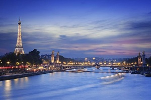 Eiffel tower, Seine river cruise and Paris illuminations night tour Tickets