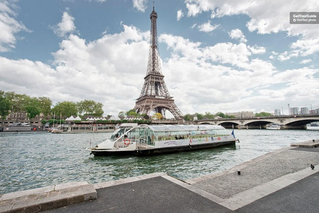 Seine River Hop On Hop Off Cruise Paris Tickets