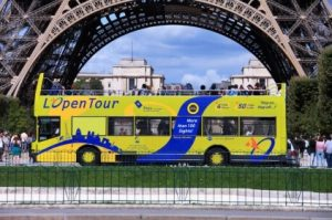 Paris Hop-on Hop-off Bus Ticket Tickets