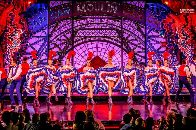 Moulin Rouge Paris with Dinner Options Tickets
