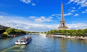 Eiffel Tower Summit and Seine River Cruise Tickets