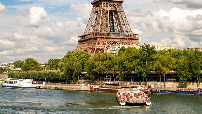 Eiffel Tower Skip-The-Line Ticket & Seine River Cruise Tickets