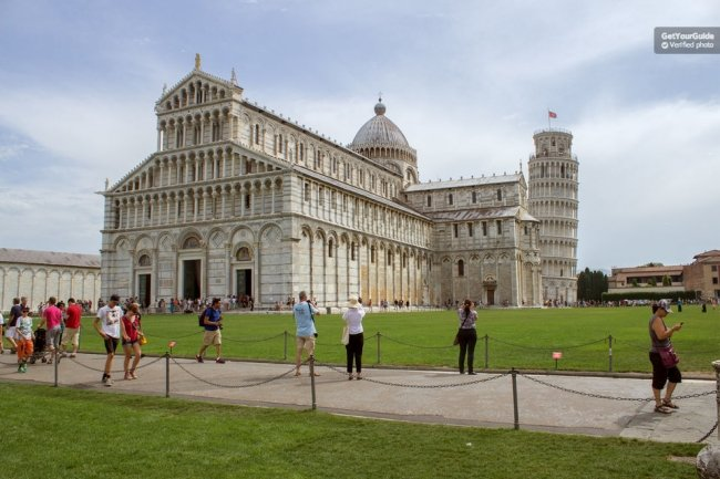 Skip the line Leaning Tower of Pisa & Cathedral Tickets