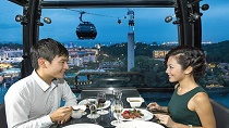 Private Sky Dining on the Singapore Cable Car Tickets