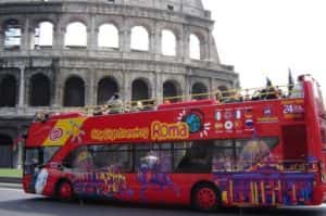 Rome Hop-on Hop-off Sightseeing Tour Tickets