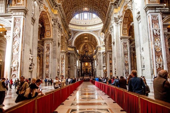 Saint Peter Basilica Skip the Line Tickets Tickets