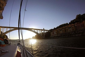 Sailboat Cruise on the Douro River