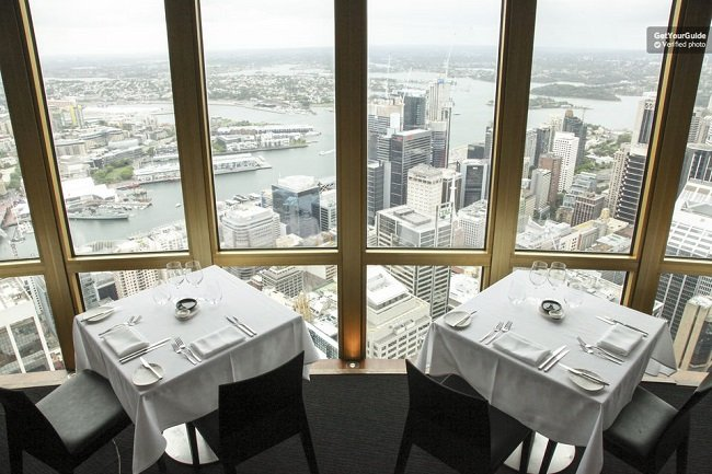 Sydney Tower 360 Bar and Dining Experience Tickets