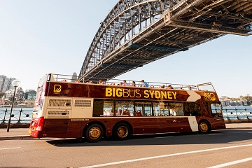 Sydney Hop-On Hop-Off Bus 2 Days Pass with Cruise & Sydney Tower
