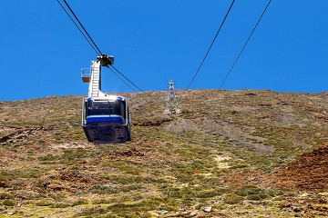 Tenerife Mount Teide Cable Car Fast Track Ticket
