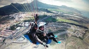 Best South Tenerife Tandem Paraglide Flight