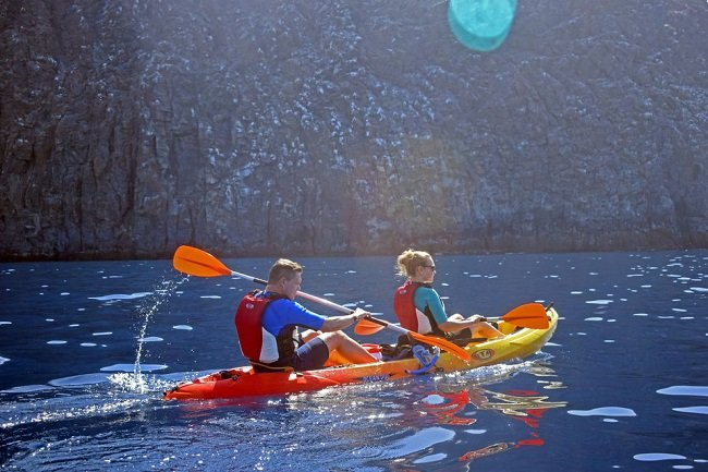 Tenerife Kayaking Tour and Snorkeling with Turtles and Rays Tickets