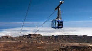 Tenerife Mount Teide Cable Car Fast Track Ticket Tickets