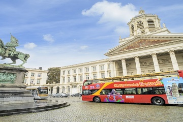 Tickets for Brussels Card & Hop-on Hop-off Bus