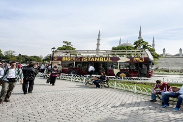 Tickets for Hop-on Hop-off Bus Istanbul 48H + Bosphorus Cruise