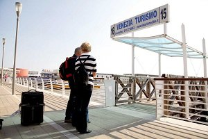 Venice Marco Polo Airport Transfer With Shared water Taxi Tickets