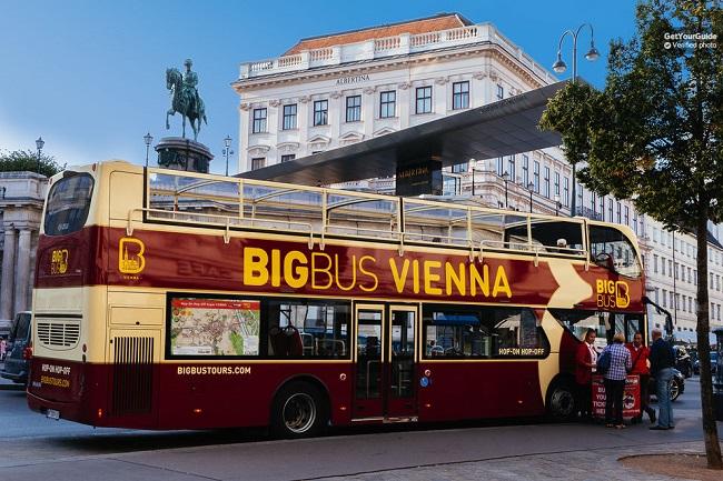 Vienna Hop on Hop off Bus Tickets