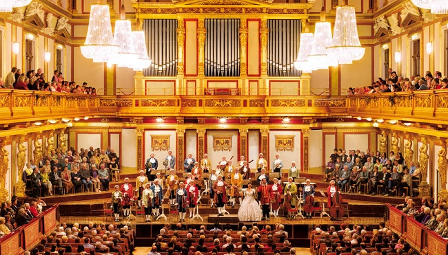 Vienna Mozart Concert at the Golden Hall Tickets