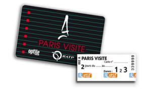 what paris pass transport travel card visite